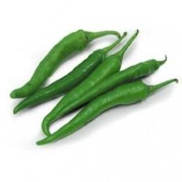 Chili (Hari Mirch) Approx - 120gm-150gm