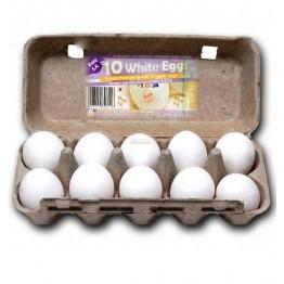 Bajaj White Eggs 10pc