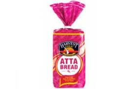 HARVEST 100% ATTA BREAD - 450GM