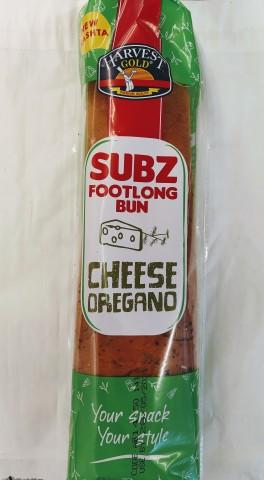 Subz Footlong Bun (Harvest Gold) 1pc