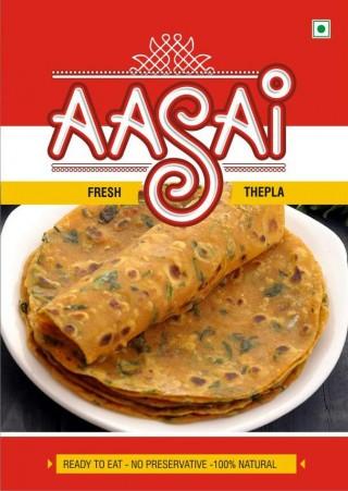 AASAI Fresh Thepla (1pkt.)
