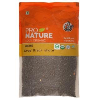 Pro nature 100% Organic Urad Black whole -500gm