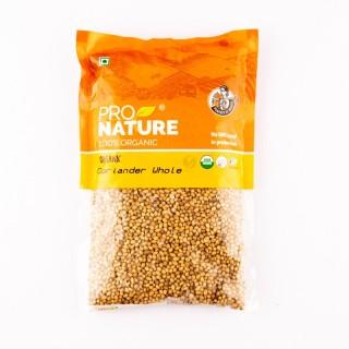 Pro nature 100% Organic Coriander whole -200gm