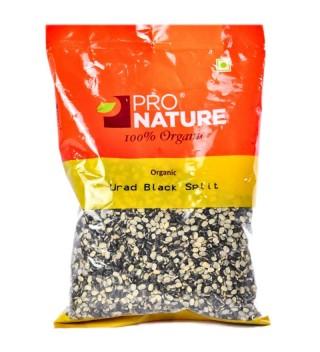 Pro nature 100% Organic Urad Black spilt-500gm