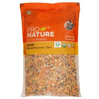 Pro nature 100% Organic Panchratna Dal-500gm
