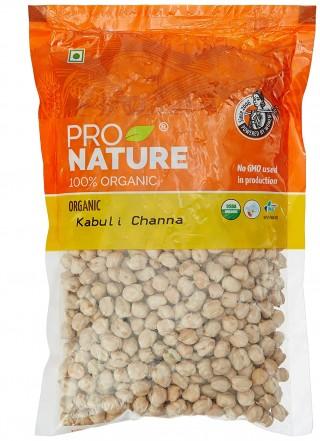 Pro nature 100% Organic Kabuli Chana-500gm
