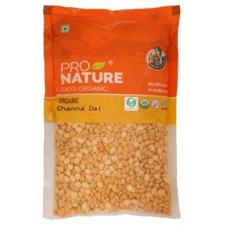 Pro nature 100% Organic Chana Dal -500gm