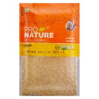 Pro nature 100% Organic Urad White split -500gm