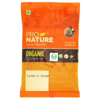 Pro nature 100% Organic Turmeric powder-100gm