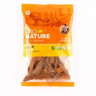 Pro nature 100% Organic Cinnamon bark-50Gm