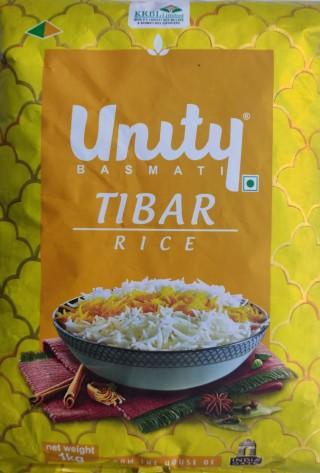 UNITY INDIA GATE TIBAR RICE - 1KG