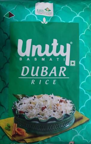 UNITY INDIA GATE DUBAR RICE - 1KG