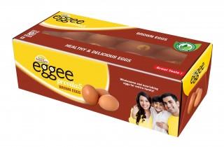 EGGEE PROVITA5 BROWN EGGS -  10PC