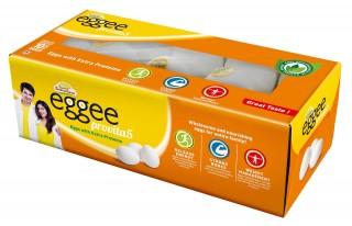 EGGEE PROVITA5 WHITE EGGS - 10PC