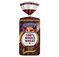 Harvest 100 % Whole Wheat Bread 400gm