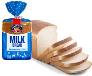 HARVEST MILK BREAD - 300GM
