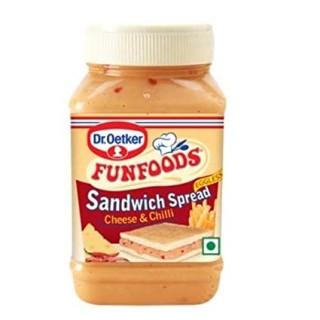 FUNFOODS Sandwich Spread Cheese & Chilli(250gm)-1Pc
