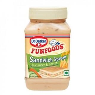 FUNFOODS Sandwich Spread Cucumber & Carrot(300gm)-1Pc