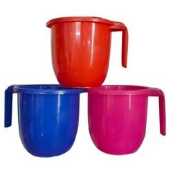 Plastic(Multi Colour) Mug 1Ltr. -1Pc