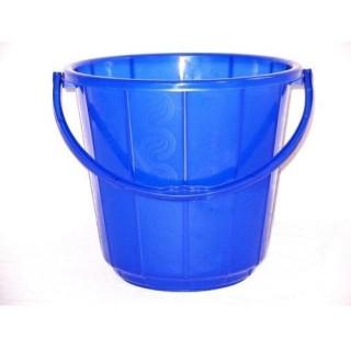 Plastic(Multi Colour) Bucket 15Ltr. -1Pc