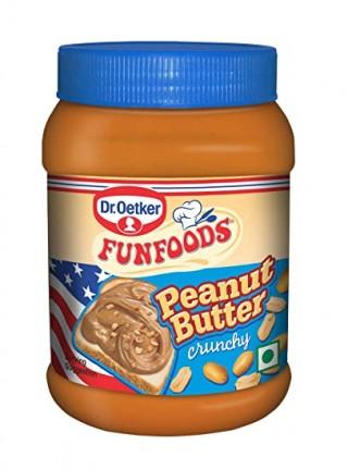 FUNFOODS Peanut Butter Crunchy - (400gm) -1pc