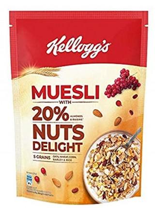 Kelloggs Muesli 20% Nuts Delight -750gm