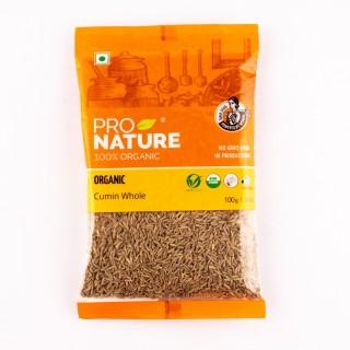 Pro nature 100% Organic Cumin whole -100gm