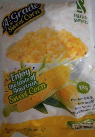 A-Grade Sweet Corn - 1kg