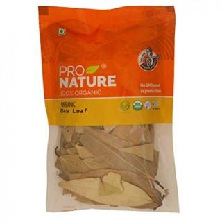 PRO NATURE 100% ORGANIC BAY LEAF(TEJ PTTA )50 gm