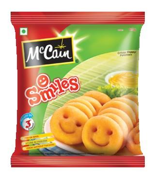 Mccain Smiles (1.240kg)